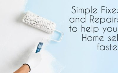 Simple Fixes and Repairs to Help Your Home Sell Faster